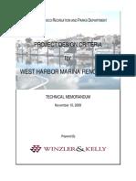 2009-11-10 SFWM Proj Des Criteria (Final)