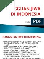 Gangguan Jiwa Di Indonesia
