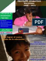 PROEYCTO EDUCTAIVO NACIONAL