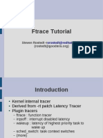 Ftrace Tutorial