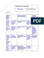 Ableweb Activitiy Timetable_updated 05-12-12