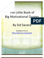Little Book of Big Motivational Quotes Sidsavara Com