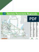 Mappa Rete Treni Lombarida 2012