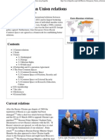 Russia–European Union relations - Wikipedia