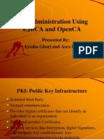 Administración PKI