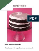 Miette Tomboy Cake