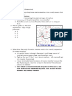 Shipboard Forecasting