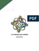 Theorie Des Cordes