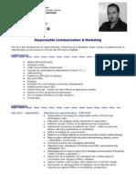 2013 - CV - Mohamed TAZI - Responsable Communication & Marketing