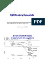 gsm system essentials