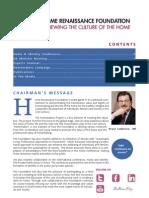 HRF Newsletter Volume 4 2012