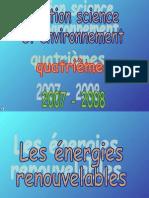 Diaporama énergies Renouvelables Blog
