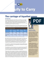 carriage of liquefied gases