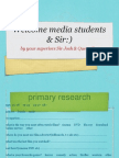 MEDIA Research Copy Ppt