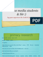 MEDIA Research Copy Ppt