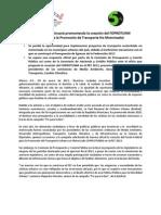 La BICIRED continuará promoviendo la creación del FOPROTUNM  (Fondo para la Promoción de Transporte No Motorizado)