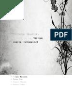 Diversitatea Tematica Stilistica Si de Viziune in Poezia Interbelica