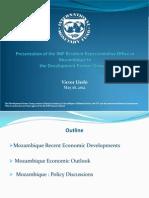 Mocambican economic outlook