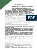 Canada Intrebari