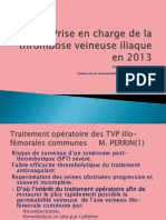 Prise en Charge de La Thrombose Veineuse Iliaque