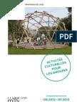 Activités culturelles pour les groupes 2012-2013 - Musée d'art contemporain de Lyon