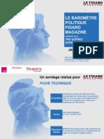 Baromètre politique - janvier 2013