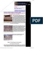 Alien Technology, Information on Ufo Technology
