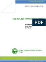 23-Technology Transfer in Cotton