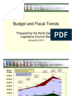 North Dakota Budget And Fiscal Trends