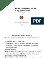 public service management