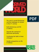 Reformed World vol 54 no 3-4 (2004)