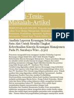 analisis rasio keuangan PT holcim