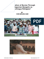 Islamization of Burma Through Chittagonian Bengalis as _Rohingya Refugees_ by KHIN MAUNG SAW