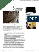 Inmates Use Newspaper's Gun Map to Threaten Guards