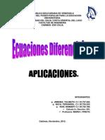 Aplicaciones de Las Ecuaciones Diferenciales. Docx