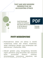 Powerpoint Post and New Modern Perspective on Accounting Ethics