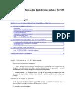 Proteção das Informações Confidenciais pela Lei 9.279/96