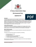 Policies - Risk Assessment