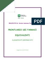 PRONTUARIO FARMACI EQUIVALENTI 12-07-2012