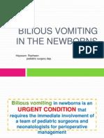 neonatal billious vomiting