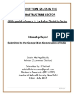 Competition Issues in the Infrastructure Sector_With Special Reference to the Indian Electricity Sector