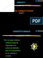 Sistema de Transmision POWER SHIFT