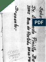 Informe ADN del FBI caso Patricia Flores