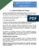 Manipulación Manual de Cargas - Peru