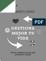 Gestiona Mejor Tu Vida(c.1) - Alberto Pena