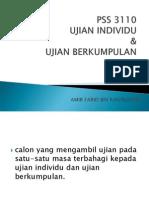 11) Ujian Individu y Berkumpulan