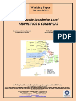 Desarrollo Económico Local. MUNICIPIOS O COMARCAS (Es) Local Economic Development. TOWNS OR COUNTIES (Es) Tokiko Ekonomi Garapena. UDALERRIAK ALA ESKUALDEAK (Es)