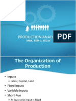 Production Analysis 2