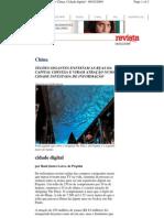 China Cidade Digital Revista Da Folha