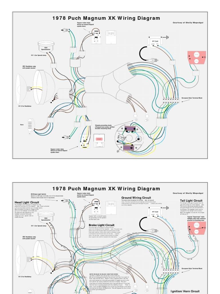 1978 Puch Magnum Xk Wiring Diagram